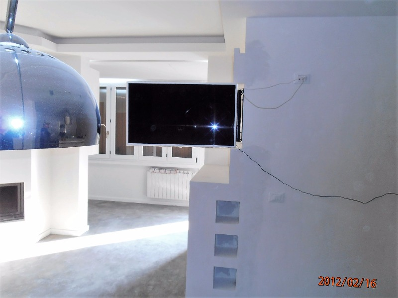 Mobile in Cartongesso porta TV